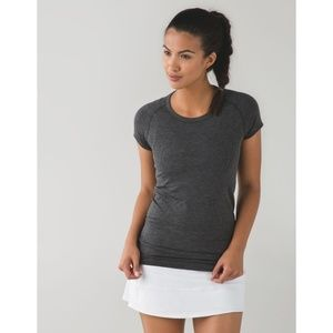 Lululemon Swiftly Tech Short Sleeve Crew Grey